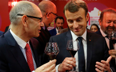 Macron's tasting skills ahead of French presidents